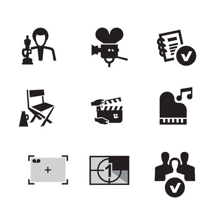 cinematograph: Movie  Vector format