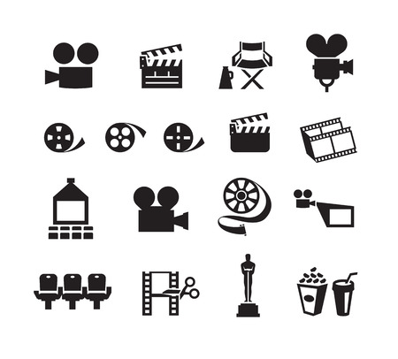 Cinema  Vector format Vector