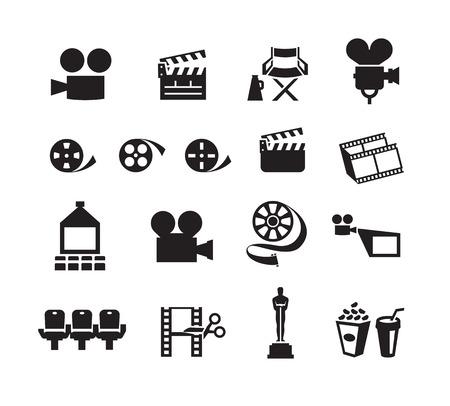 movie theater screen: Cinema  Vector format