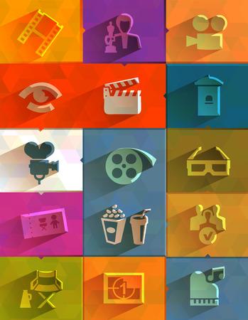 Cinema icon  Vector format Vector