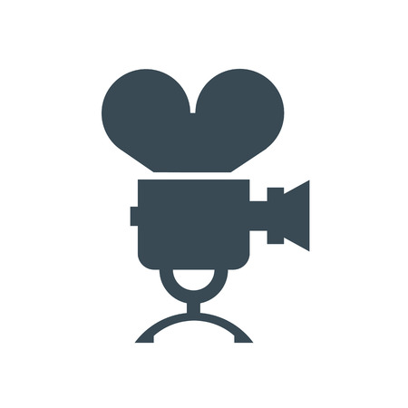 movie projector: Film icon  Vector format Illustration