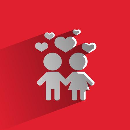 fostering: Love  Vector format