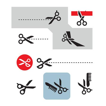 ciach: Scissors  Vector format