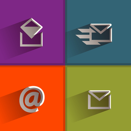 chatbox: Letter  Vector format