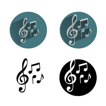 clave de sol: icono de la música
