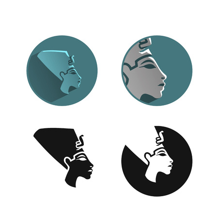 Egypt king icon Vector