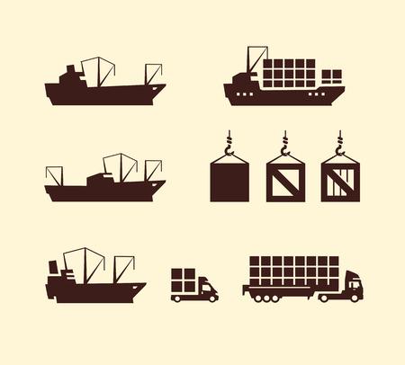 industrial ship: Delivery Vector