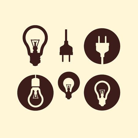 enchufe de luz: Electricidad