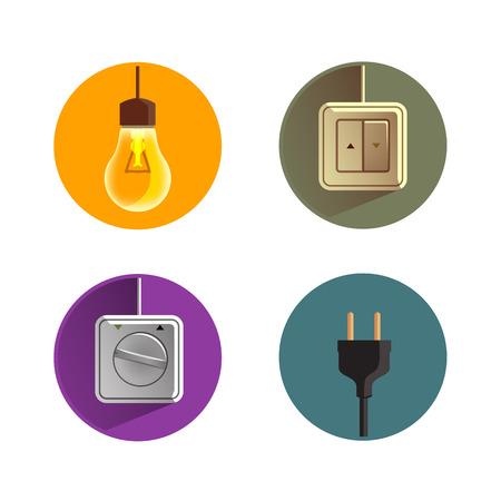 sockets: Electricity Vector format