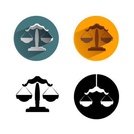 magistrate: Libra  Vector format