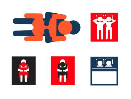 icônes de sexe Illustration