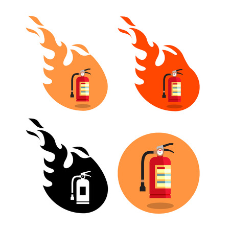 fire extinguisher Stock Vector - 27323287
