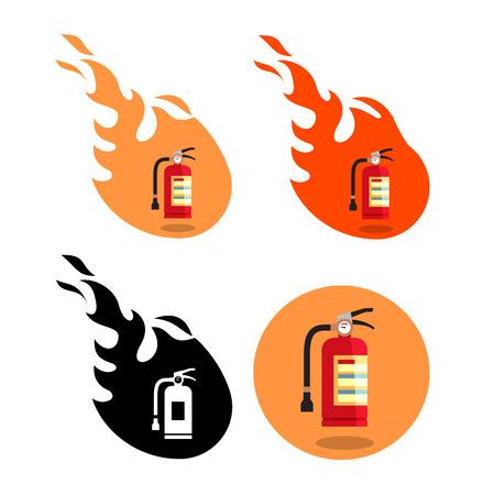 fire extinguisher: fire extinguisher