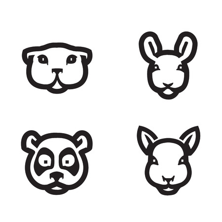 gopher: Animals icons  Vector format