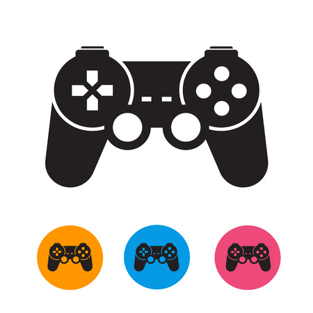 game controller: Joystick  Vector format