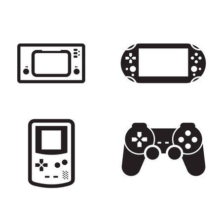 game pad: Game  Vector format Illustration