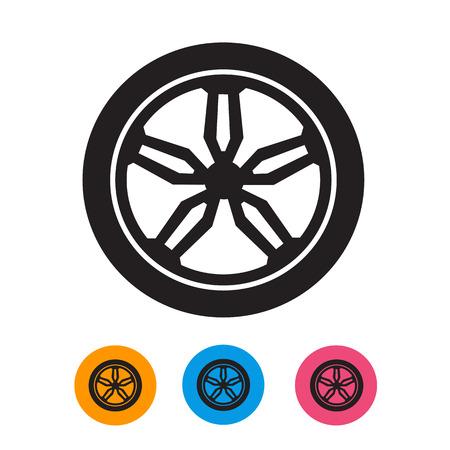 Wheel  Vector format Vector