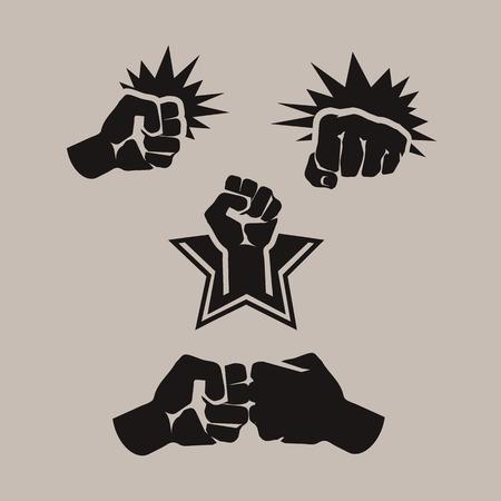 Fist  Vector format