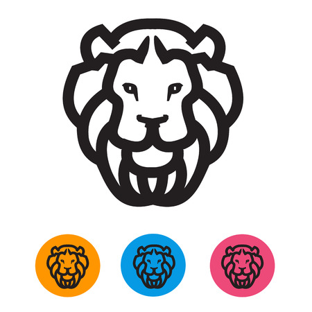 lion vector: Lion  Vector format Illustration