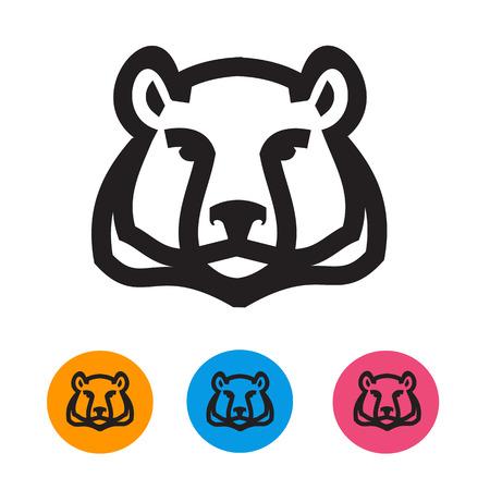 bruin: Bear  Vector format Illustration