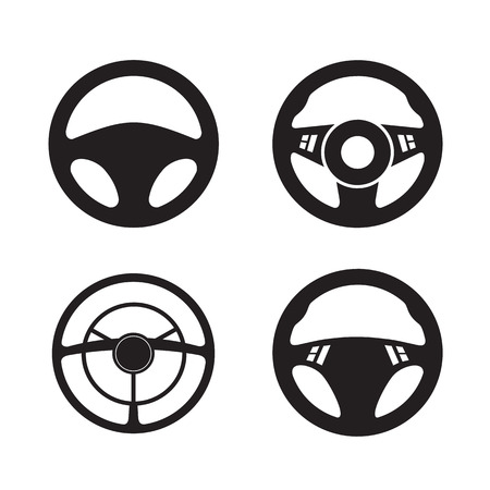 steering: Wheel  Vector format Illustration