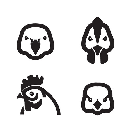 Birds  Vector format