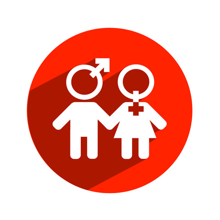 Man and woman  Vector format Vector