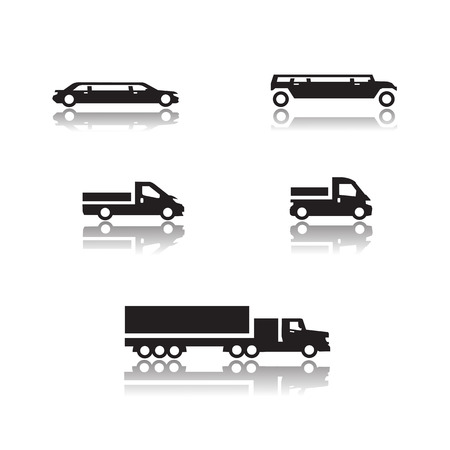 Cars icons  Vector format