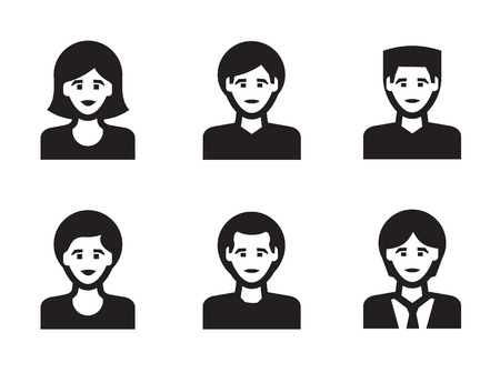 People icon  Vector format Vector
