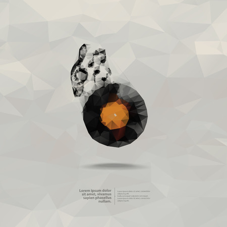 vinyl disk player: Music  Vector format