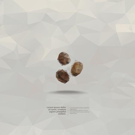 arabic food: Coffee  Vector format Illustration