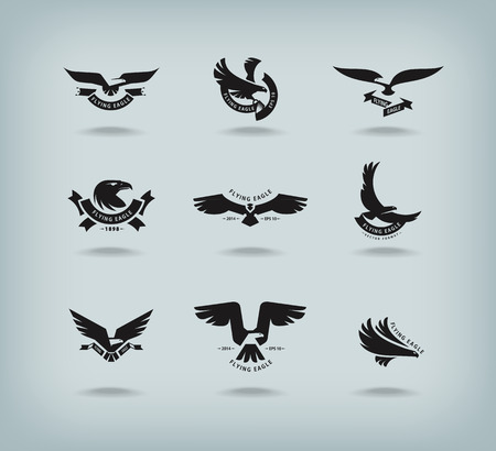 Eagle  Vector format Stock Vector - 27843156