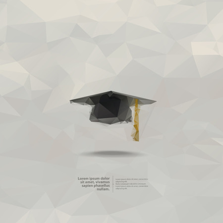 doctorate: Education  Vector format Illustration