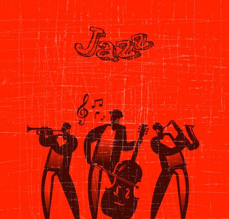 saxofón: Formato vectorial Jazz