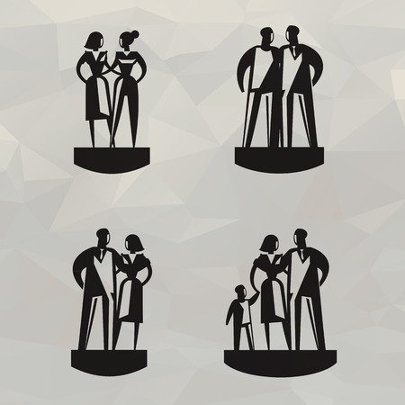 People  Vector format Vector