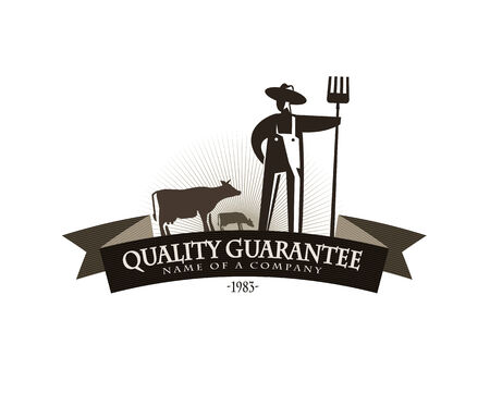 Farmer icon  Illustration
