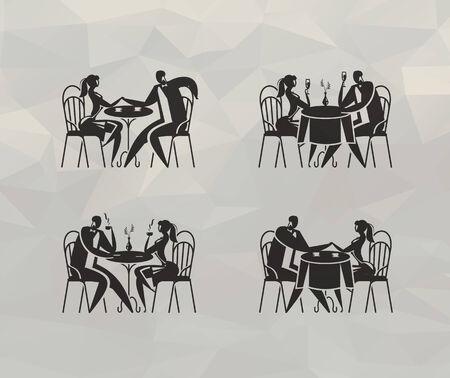 Restaurant  Vector format Vector