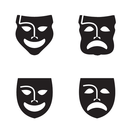 comedy disguise: Theatre  Vector format