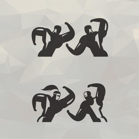 grasp: Fight illustration