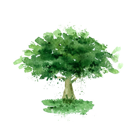 Tree.  Stock Illustratie
