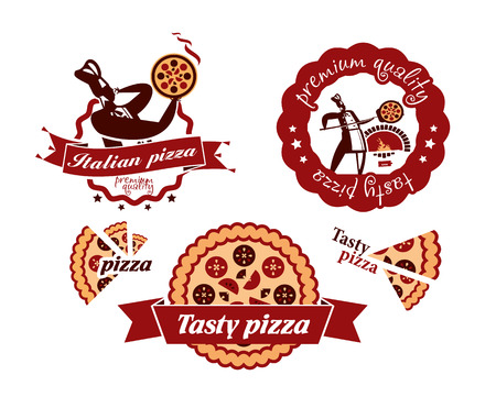 Pizza signs Vector
