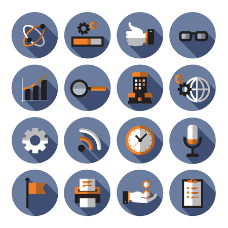 quality time: Icons. Vector format