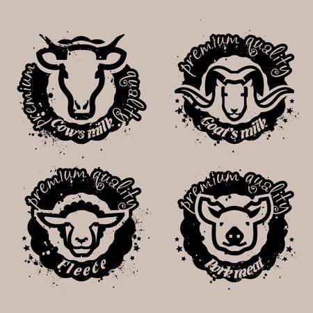 stigma: Animals. Vector format Illustration
