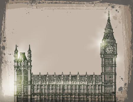 relic: London. Vector format Illustration