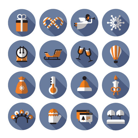holiday icons: Holiday icons. Vector format