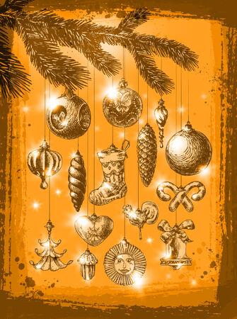 Merry Christmas. Vector format Vector