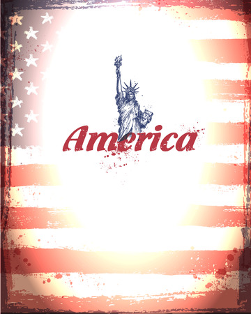 free clip art: United States of America. Vector format