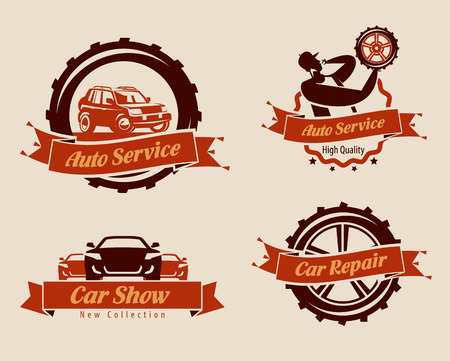 auto service: Auto service icons. Vector format Illustration