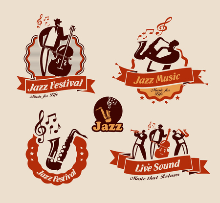 Jazz. Vector format Illustration