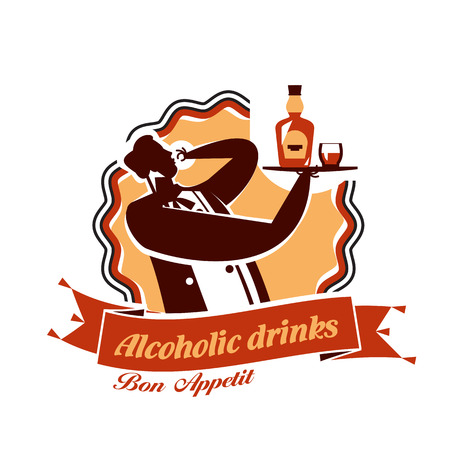 Alcohol. Vector format Vector